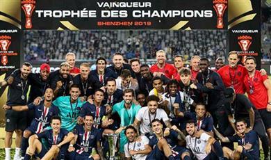 «باريس سان جيرمان» بطلًا لكأس السوبر الفرنسي