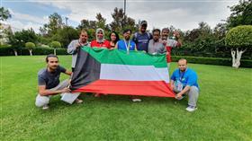 لاعب منتخب الكويت فهد الحساوي ينال الميدالية الفضية في بطولة متلازمة «الداون» للأمريكتين