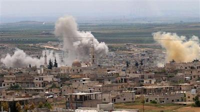 سوريا.. مقتل 4 مدنيين في قصف روسي على منطقة «خفض التصعيد»