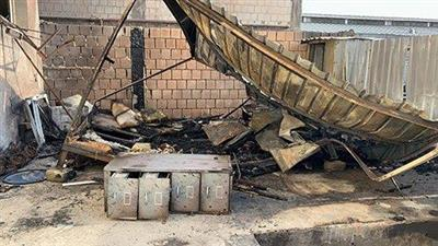 حريق شاليه من الكيربي في «صبحان».. يوقع إصابتين