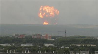 روسيا: مستويات الإشعاع ارتفعت من 4 لـ 16 مرة بعد حادث اختبار الصاروخ