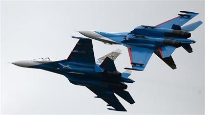 مقاتلة للناتو تحاول الاقتراب من طائرة وزير الدفاع الروسي.. ومقاتلات روسية تعترضها