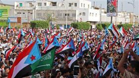 عشرات الآلاف يشاركون بمسيرة في عدن لدعم الانفصاليين الجنوبيين