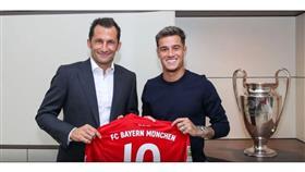 بايرن ميونخ يتعاقد مع كوتينيو لمدة موسم واحد.. رسميًا