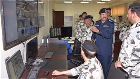 الفريق الشيخ فيصل نواف الأحمد الصباح يقوم بزيارة تفقدية إلى مصفاة ميناء الأحمدي