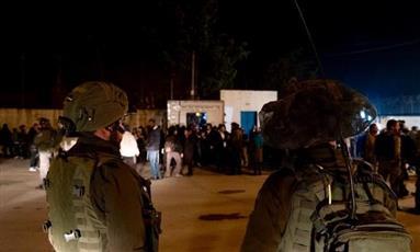 إصابة 5 فلسطينيين في مواجهات مع قوات الاحتلال بنابلس