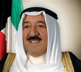 سمو أمير البلاد يتلقى اتصالاً هاتفياً من رئيس مجلس الوزراء العراقي للاطمئنان على صحة سموه