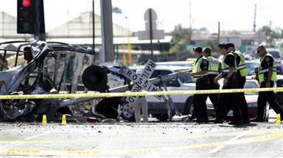 إصابة 27 شخصا في خروج قطار عن القضبان بولاية كاليفورنيا الأمريكية