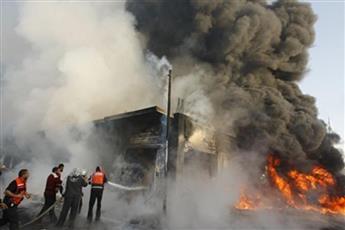 إصابة 24 شخصا في انفجار دراجة مفخخة جنوب بغداد