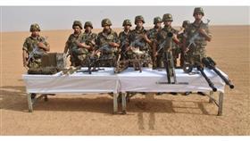 الجزائر تعثر على مخبأ للأسلحة الحربية على حدود مالي
