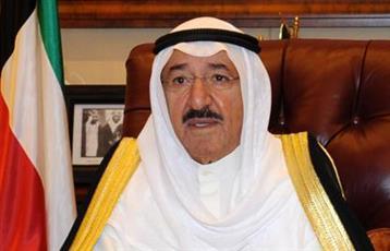 سمو الأمير يعزي أمير قطر بوفاة الشيخ علي بن خليفة الأحمد آل ثاني