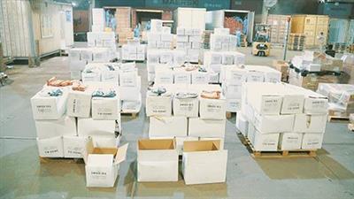 إحباط محاولة تهريب 400 ألف حبة «تنباك» عبر ميناء الشويخ
