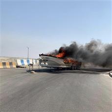 «الإطفاء»: إخماد حريق زورق مقابل أحد الشاليهات بمدينة صباح الأحمد البحرية