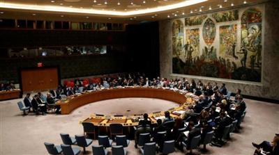 جانب من جلسة سابقة لمجلس الأمن الدولي - أرشيف (رويترز)