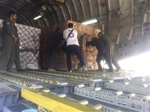 «الهلال الأحمر»: إقلاع الطائرة الأولى المحملة بالمواد الإغاثية للاشقاء في السودان