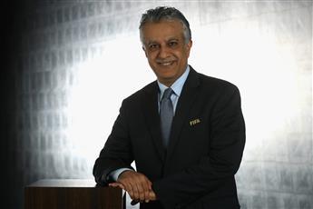 رئيس الاتحاد الآسيوي يبارك إطلاق الشعار الرسمي لكأس العالم  قطر 2022