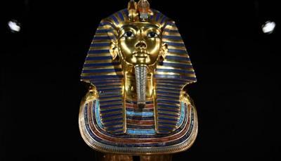 القناع الذهبي للملك توت عنخ أمون