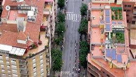 أكبر سباق دراجات في أوروبا يكشف جريمة فوق سطح مبنى