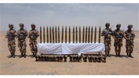 الجزائر: اكتشاف أسلحة حربية على الحدود مع مالي