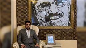نجل مرسي دفن.. بجوار أبيه