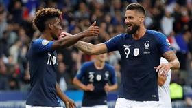 تصفيات «يورو 2020».. فرنسا تفوز على البانيا برباعية