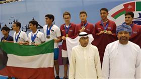 «الخليجية للألعاب المائية» تختتم منافساتها في الكويت بتكريم الفائزين