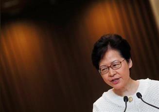 زعيمة هونج كونج: تصعيد العنف لن يحل المشاكل الاجتماعية