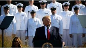 الرئيس الأمريكي دونالد ترامب متحدثاً في البنتاغون