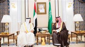 محمد بن زايد يدين الهجمات الإرهابية على أرامكو