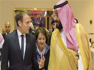 الرئيس الفرنسي يشجب ويستنكر الأعمال العدائية ضد منشآت أرامكو