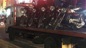 تحرير «109» مخالفة وحجز «97» دراجة خلال حملة مرورية