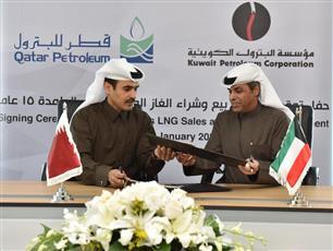 قطر تزود الكويت بالغاز الطبيعي المسال.. لمدة 15 عاما