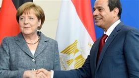 الرئيس السيسي والمستشارة ميركل