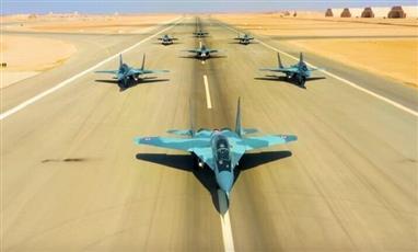 الجيش المصري يعلن تنفيذ قواته الجوية مهام قتالية