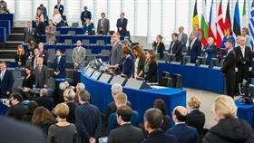 جانب من جلسة البرلمان الاوروبي