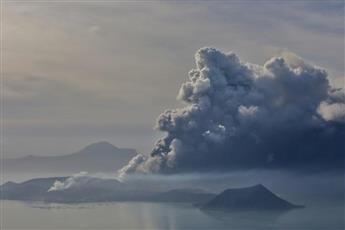 ثورة «بركان تال» تُغلق المدارس والأنشطة بالعاصمة الفلبينية