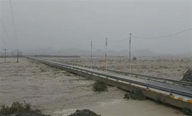 فيضانات غير مسبوقة في جنوب شرقي إيران