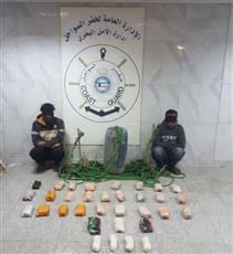 «الداخلية»: ضبط شخصين حاولا تهريب مواد مخدرة للبلاد عبر البحر