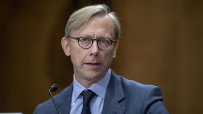 ممثل الولايات المتحدة الخاص بشأن إيران برايان هوك