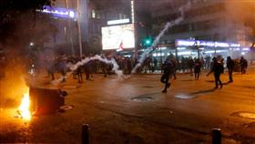 جرحى في مواجهات بين المتظاهرين وقوى الأمن اللبناني في بيروت