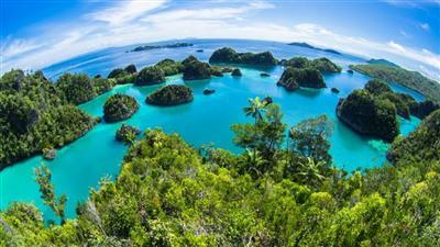 اختفاء جزيرتين في إندونيسيا نتيجة تغير المناخ