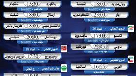 أبرز المباريات المحلية والعالمية ليوم السبت 18 يناير 2020
