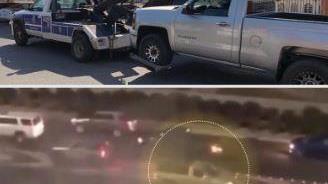 الداخلية: ضبط قائد مركبة قام بأعمال استهتار ورعونة على طريق المغرب السريع