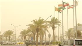 «الأرصاد»: طقس غير مستقر ورياح معتدلة إلى نشطة مثيرة للغبار