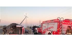 وفاة مواطن وإصابة آخر في حادث تصادم مروع على طريق الخيران