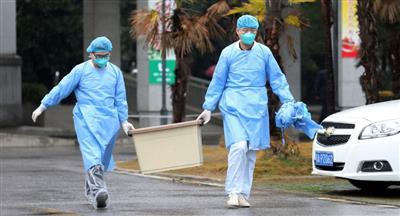 شفاء امرأة مصابة بفيروس كورونا
