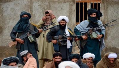 أفراد من حركة (طالبان) الأفغانية