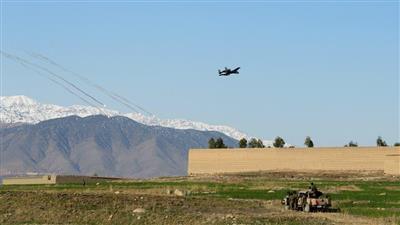 طائرة عسكرية أمريكية تحلق فوق أفغانستان (أرشيفية)
