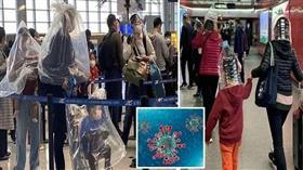 الصينيون يحاربون «كورونا» بالعبوات البلاستيكية