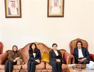 سفارة الكويت بروما تستمر في استقبال المعزين بوفاة سمو الأمير الراحل
